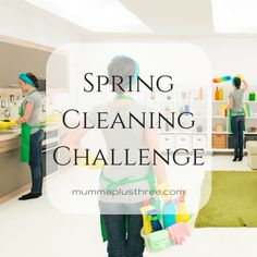 30 Day Spring Cleaning Challenge - Are You In? - Mumma Plus Three