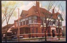 OH-Piqua-Club-House-Street-View-1909-Postcard-N8