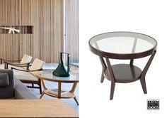 Stunning wooden coffee table with the glass top from 50's. Get yourself one at Retrospectroom Shop for // Impresionante mesa de centro de madera y cristal de los años 50. Consíguete una en Retrospectroom Shop.  € 270