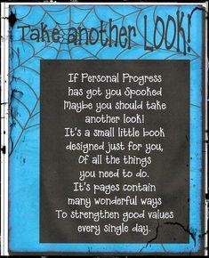Personal Progress Got You SPOOKED! Free printable