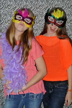 Birthday party photo booth! | Capital City Photography