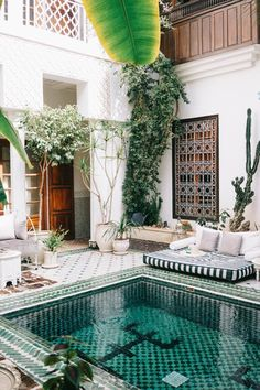 Riad Yasmine Marrakech - First Timers Guide to Morocco Visit Morocco, Morocco Travel, Africa Travel, New Travel, Luxury Travel, Luxury Hotels, Luxury Getaways, Beach Hotels, Travel Goals
