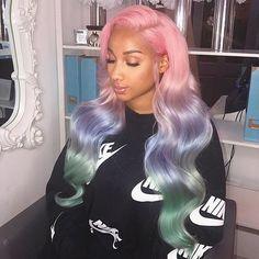 H&F Virgin Human Hair Body Wave 4 Bundles Natural Black Love Hair, Gorgeous Hair, Hair Colorful, Curly Hair Styles, Natural Hair Styles, Hair Styles Weave, Loose Waves Hair, Brazilian Hair Weave, Hair Laid