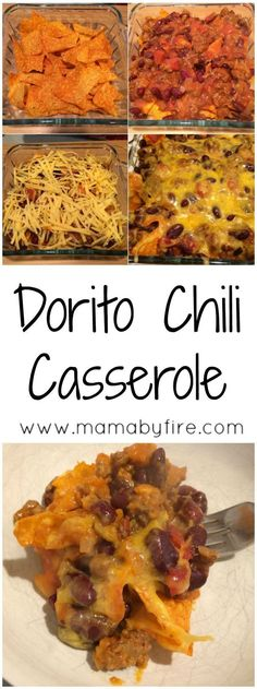 Chili Casserole This Dorito Chili Casserole is a great dish for your next football party! It's super easy and delicious!This Dorito Chili Casserole is a great dish for your next football party! It's super easy and delicious! Spicy Recipes, Beef Recipes, Mexican Food Recipes, Dinner Recipes, Cooking Recipes, Dinner Ideas, Recipies, Mexican Dishes, Arabic Recipes