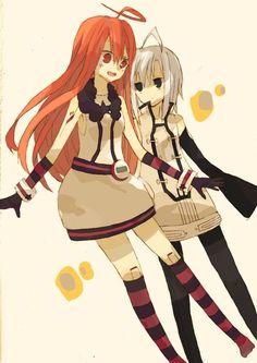 Piko and Miki^^