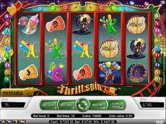 ¡Disfruta de un juego basado en un parque temático! Thrill Spin™ | Jugar a las tragamonedas gratis en tragamonedasx.com
