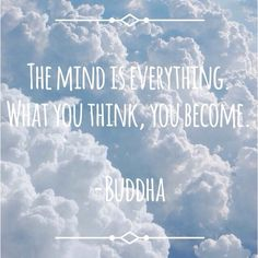 #clouds #buddha #quote