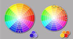 цветовой круг схема - Google Search Поделки Своими Руками, Google, Координация Цвета