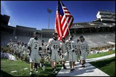 Army takes the field at historic Michie Stadium  http://danny-wild.com/2010/02/26/too-early-for-lacrosse/