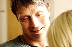 Mads Mikkelsen, we all want this look!!
