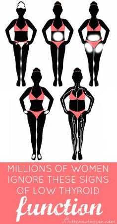 Millions Of Women Ignore The Symptoms Of Low Thyroid. Do YOU Know The Signs? | Butter Nutrition