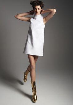 Robe style courrege