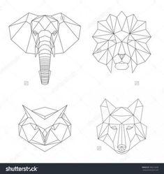 New Drawing Animals Geometric Google 64 Ideas #drawing
