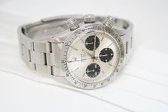 A True Vintage Classic- 1970's Rolex Daytona Oyster Cosmograph Stop Watch Ref. 6265 with the Original Rolex Box Buy It Now or Best Offer: $28,500.00