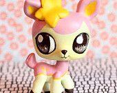 Deerling Pokemon inspired Littlest Pet Shop custom