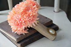 coral bouquet.