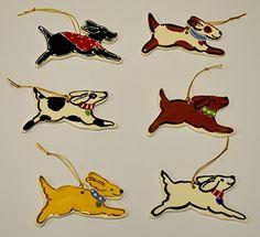 Dog Ornament  Price : $20.00 http://www.dogsrulegear.com/Dog-Ornament/dp/B00PMH1VP4