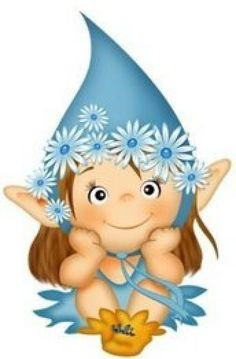 Cute Images, Cute Pictures, Adult Coloring, Coloring Pages, Kobold, Acrylic Painting Techniques, Cute Clipart, Cartoon Pics, Fairy Art