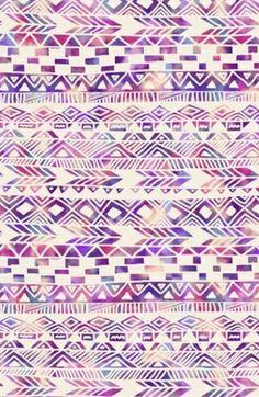 Retro aztec wallpaper