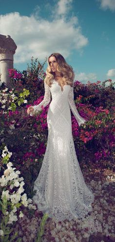 You know I'm all about that lace. Lace wedding dress?