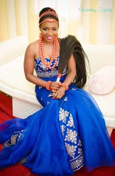 Igbo Traditional Wedding Bride, Groom and Bridesmaids Inspiration for 2015. Gorgeous attires, coral beads and more