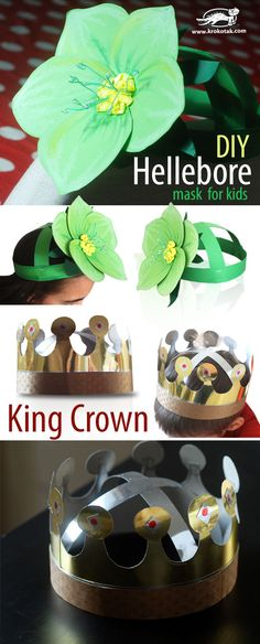 Crowns for spring party