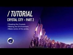 ( / ) C4D TUTORIAL - Shading Crystals - Crystal City PT2 - YouTube