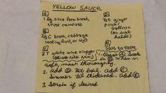 YELLOW SAUCE #sauce #medieval