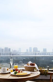 breakfast on terrace tokyo - Google Search