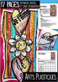 Voici un projet médiatique de St-Valentin pour 2e année et plus. Dans ce document, vous aurez une feuille reproductible, avec les écritures des ''je t'aime''. Nous travaillons les lignes et leur orientations. Vous aurez donc des projets différents les uns des autres. Crayon de bois de couleurs uniquement. Vous pouvez utiliser cette activité pour réaliser de fabuleuses cartes de St-Valentin.  Nous n'avons jamais trop d'amour ! :)