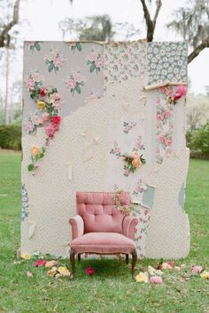 shabby chic booths - Google Search