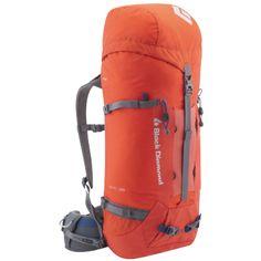 Black Diamond Epic 45 Backpack Lava Medium * See this great product. Internal Frame Backpack, Best Hiking Backpacks, Black Diamond Equipment, Climbing Backpack, Mountain Gear, Trekking Gear, Bag Pins, Rucksack Backpack, Camping Gear