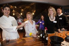 "Becky Selengut, Jessica Munnell and Erin Coopey at the Women Stars of Food and Wine.  Check out Becky's new ""favorite"" cookbook! LOL"