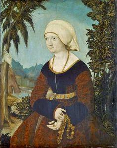 1519 Bildnis einer Frau in Landschaft