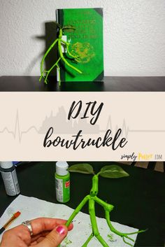 After seeing 'Fantastic Beasts', Pickett stole our heart! Want your own bowtruckle companion? Learn how to DIY your very own!