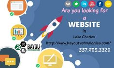 http://www.bayoutechnologies.com -Offers full-service website design, web development and Internet marketing for businesses in the Lake Charles, LA .We build mobile responsive, search engine friendly websites for our clients.Call now 337.905.3320 to get more details.