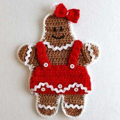 Gingerbread Kitchen Set Crochet Pattern