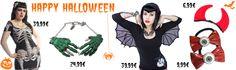 Happy Halloween :) Pour votre shopping d'Halloween, c'est ici que vous allez trouver vote tenue et de nombreux accessoires gore gore gore: www.freakypink.com