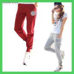 345ea85ea2ccc Plus Size 2017 New 100% Cotton Pants Women Deportes Pants Casual Loose Thin  Trousers Ankle