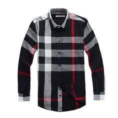 Burberry Men Shirt 2014-2015 BTS183