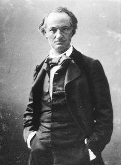 """CHARLES BAUDELAIRE - Il poeta dei """"Fleurs du mal"""", che detestava gli atteggiamenti artistici troppo mimetici,  non aveva fiducia nella fotografia come forma d'arte. Amava però farsi ritrarre."""
