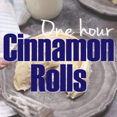 Brunch Ideas Discover 1 Hr Cinnamon Rolls These easy cinnamon rolls are a family favorite. We literally make 1 hr cinnamon rolls every weekend. These sweet rolls are as big as hubcaps and taste soo good. That cream cheese frosting is everything! Köstliche Desserts, Delicious Desserts, Dessert Recipes, Yummy Food, Best Gluten Free Desserts, Snacks Recipes, Healthy Desserts, Brunch Recipes, Recipies