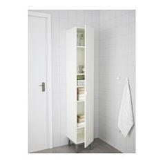 IKEA   LILLÅNGEN, High Cabinet, White/aluminium, , A Good Solution If