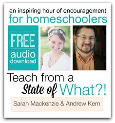 Homeschooling mamas, when you feel like quitting, listen to this instead. Free Audio Download from Sarah Mackenzie & Andrew Kern