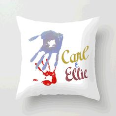 Carl and Ellie pillow!  Make one with names for your own family.