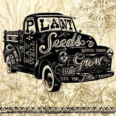 Happy Agrarian-Truck by Geoff Allen | Ruth Levison Design