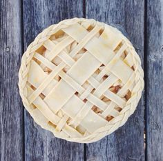 Modern pie lattice.