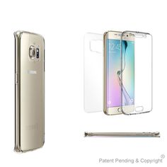 Crystal Clear Case Cover Full Body Protective fits Samsung Galaxy S 6 Edge PLUS #BeyondCell
