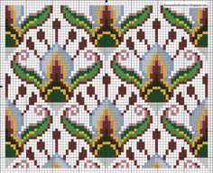 Cross stitch pattern photo by epesss Knitting Charts, Knitting Stitches, Cross Stitching, Cross Stitch Embroidery, Russian Embroidery, Cross Stitch Designs, Cross Stitch Patterns, Cross Stitch Pillow, Bargello