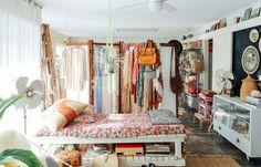 Boho bedroom | @invokethespirit